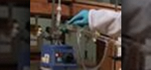 Perform simple distillation in the chemistry lab