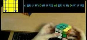 Use the 2-Look PLL method to solve the Rubik's Cube