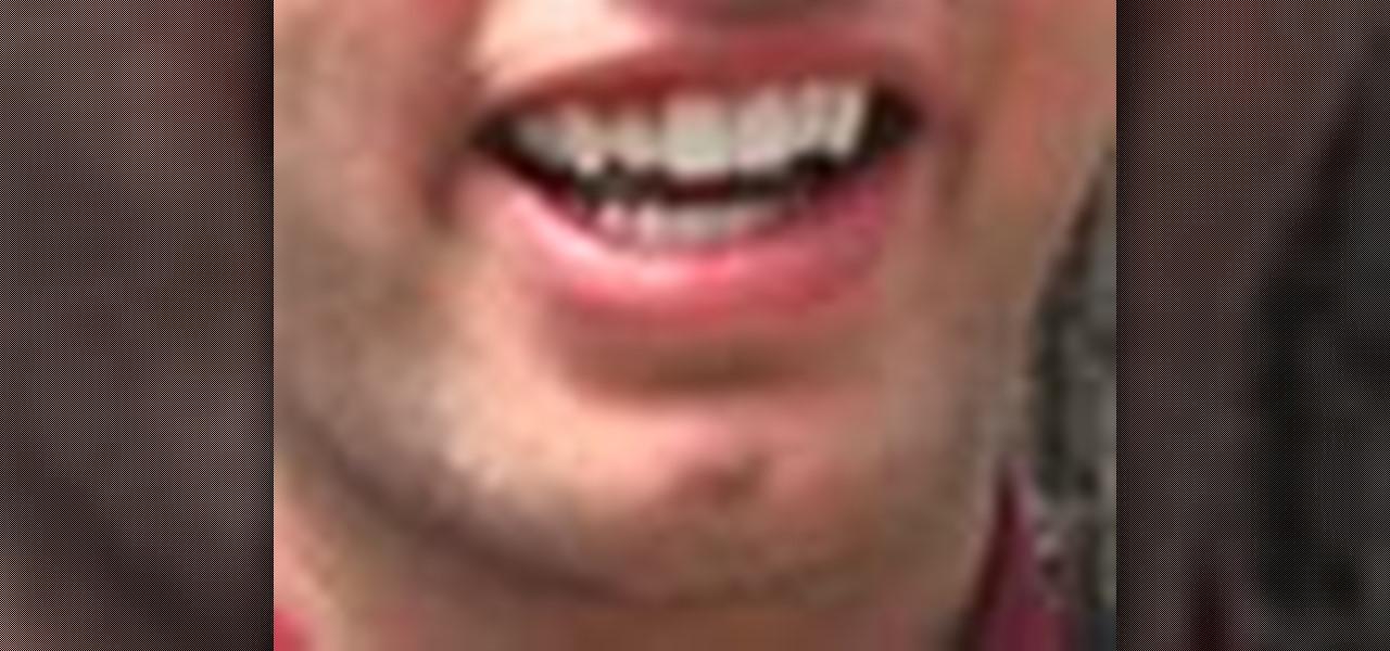 How To Whiten Teeth In Photoshop Or Elements Photoshop Wonderhowto