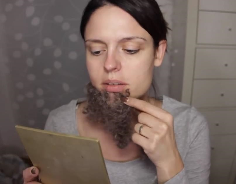 AHS Freak Show: DIY Ethel Darling (The Bearded Lady) Makeup FX for Halloween