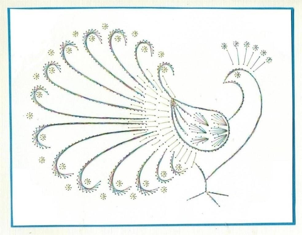 I Use This to Create Embroidered Greeting Cards.