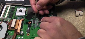 Replace a laptop CMOS battery