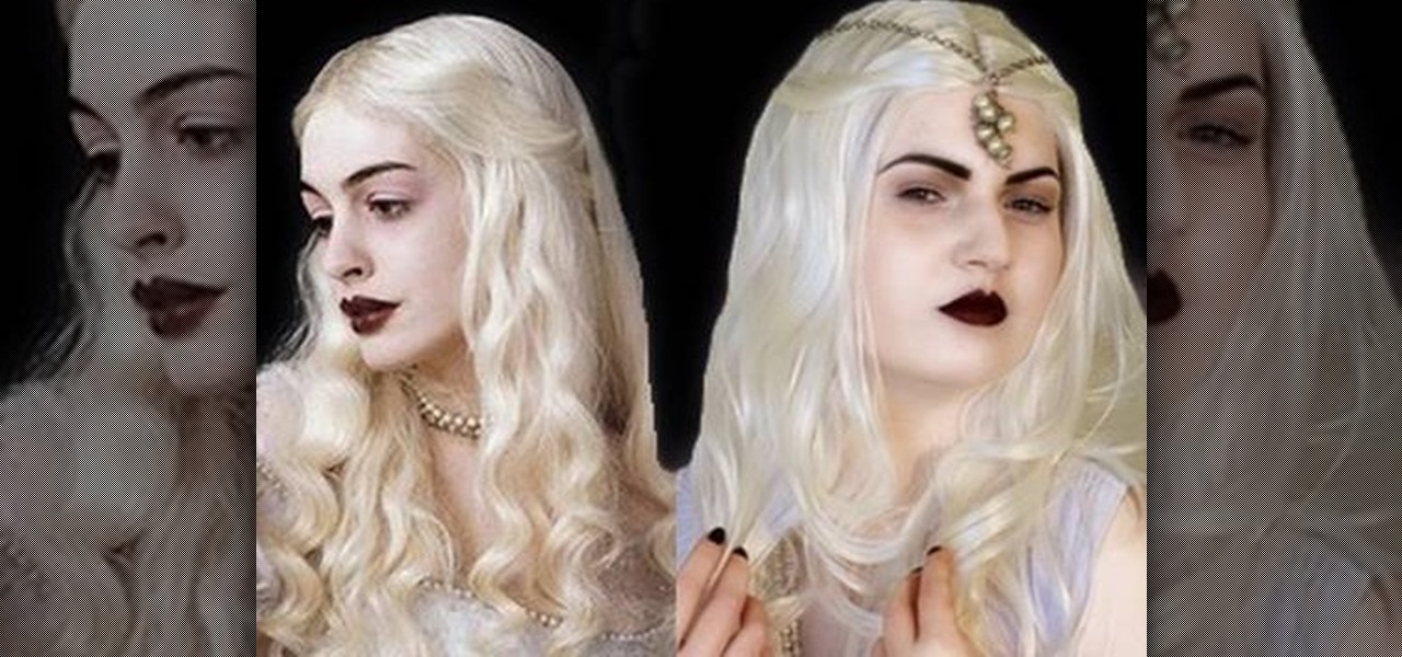 How to Recreate the White Queen look from Alice In Wonderland « Makeup :: WonderHowTo