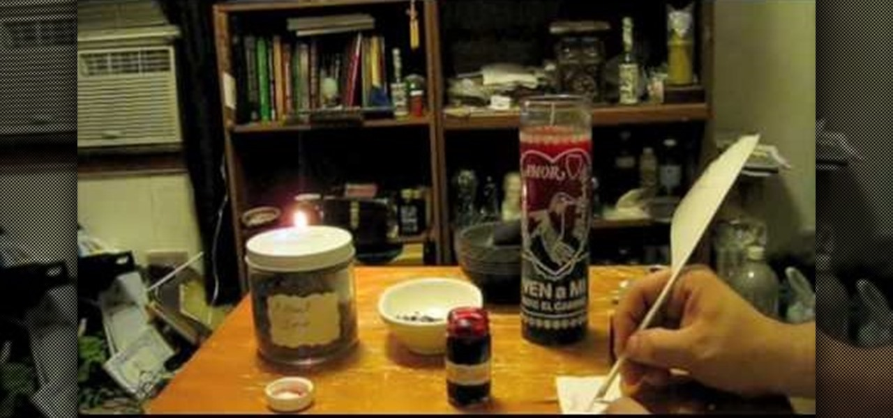 How to Dress a spell love candle « Supernatural