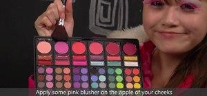 Create a bright and fun Japanese Harajuku makeup look