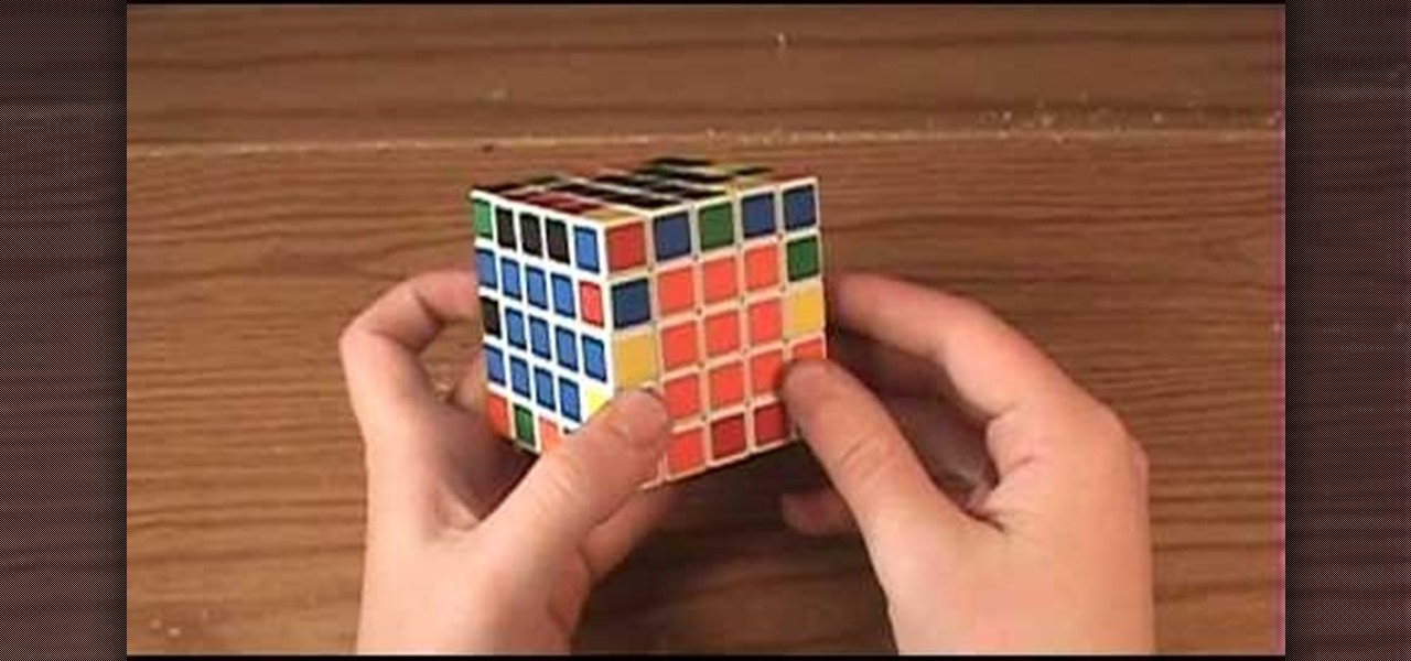 How to Solve the 5x5 Rubik's Professor Cube or the V-Cube 5
