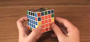 Solve the 5x5 Rubik's Professor Cube or the V-Cube 5