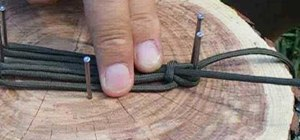 Make a parasling from #550 paracord