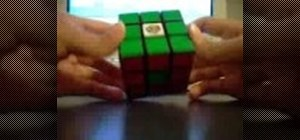 Do the center dot pattern on a Rubik's Cube