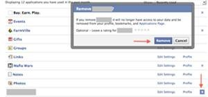 remove scams, spams, and stuff you just don't want or need on your Facebook anymore!