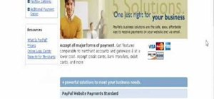 Put a PayPal payment button on your website