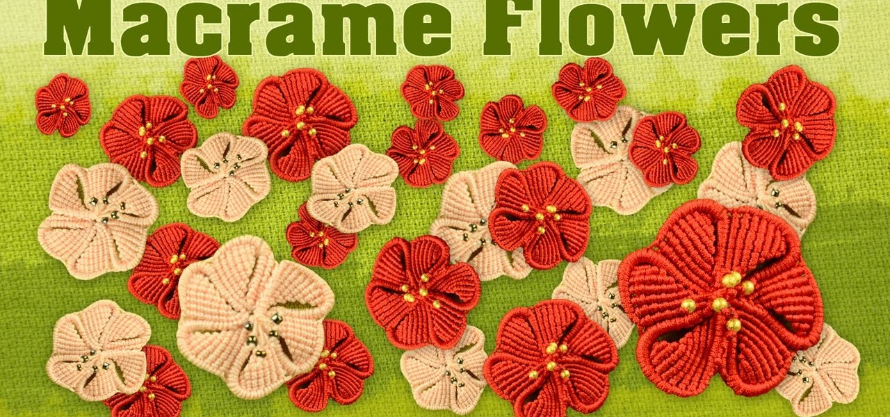 Make a Macrame Flower