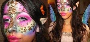 Get a Zelda fairy inspired makeup look for cheap