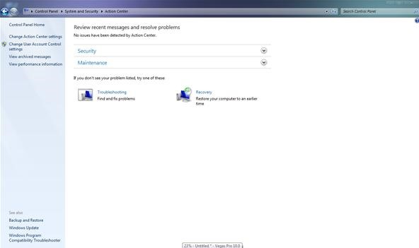 How to Stop Windows Backup and Update Alerts in Windows 7