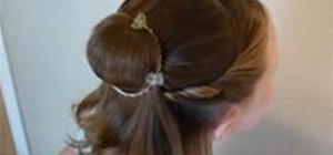 Create a Disney Princess Belle Hairstyle
