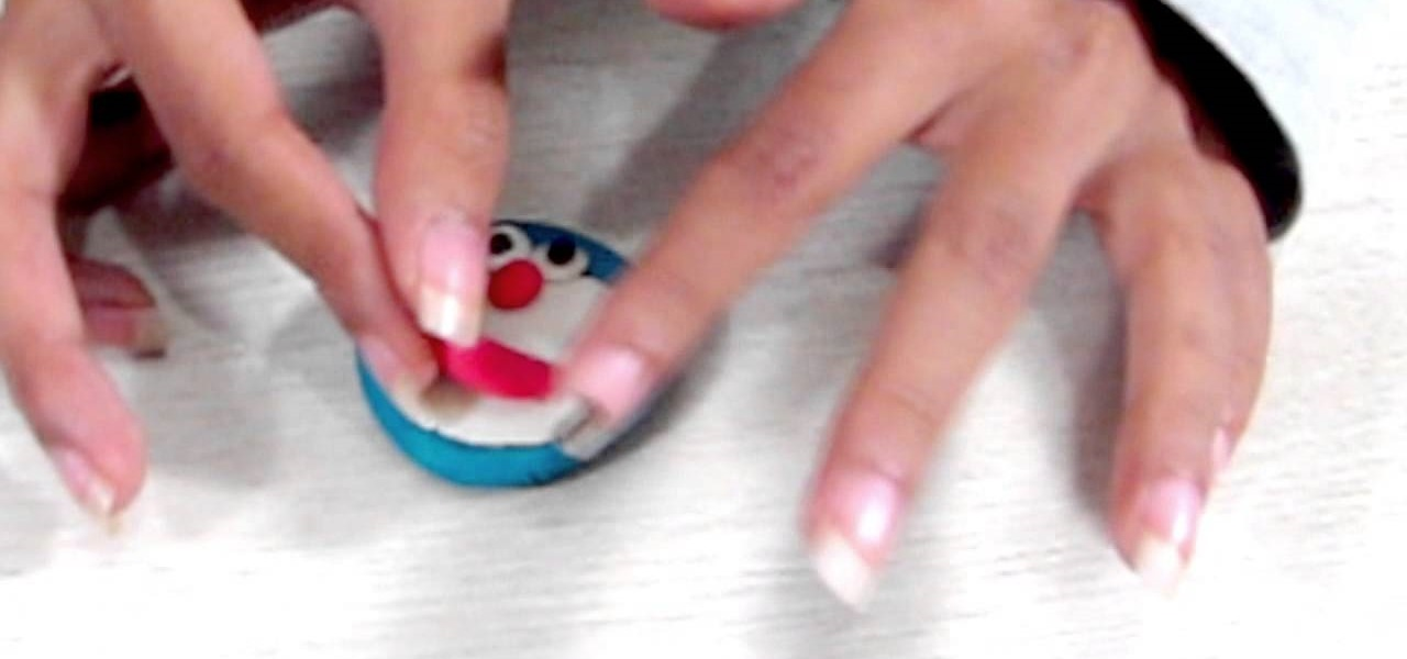 Make a Play Doh Doraemon from Playdough