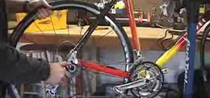 Repair a bike tire