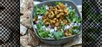 How to Make Indian-style black-eyed pea dip with baked pita chips