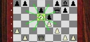 See the power of the knight outpost in chess
