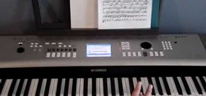 Play Fur Elise on the piano, step by step