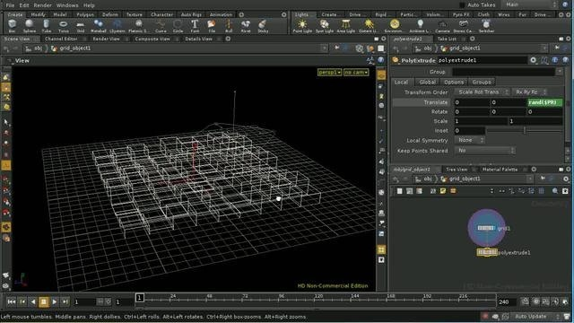 Use and work with ForEach SOPs in Houdini 10 - Part 1 of 3