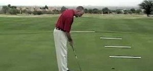 Do the putting ladder drill