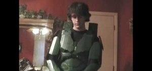 Create a hand stab effect and Halo Portal Gun