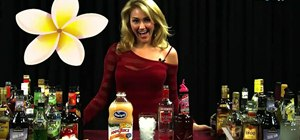Make a Firefly cocktail with vodka, grapefruit juice and grenadine