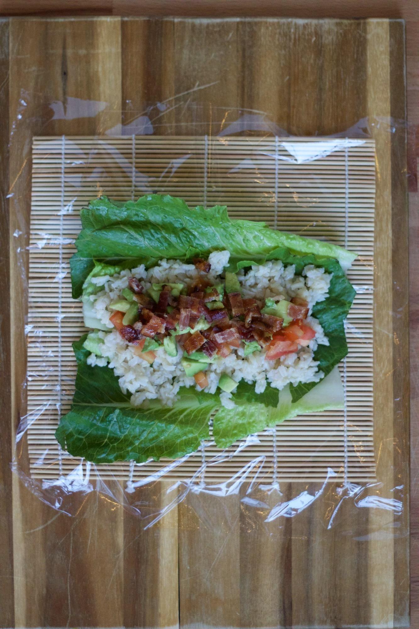BLT + Sushi = Genius