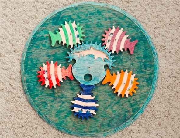 Watch Out Nemo! Fish-Shaped Gears