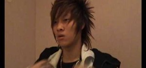 Style crazy anime hair