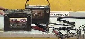 Load test automotive batteries
