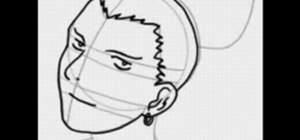 Draw the manga character Shikamaru from Naruto
