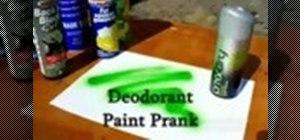Pull the deodorant prank