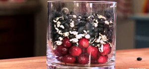 Create easy last minute Thanksgiving fruit centerpieces