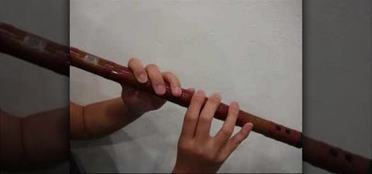 How To Play The Dizi A Chinese Bamboo Flute Other Instruments