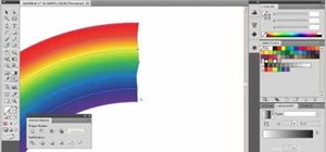 Make a rainbow in Adobe Illustrator 5