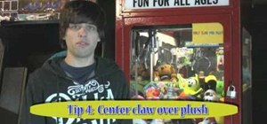 Win a claw machine game in any arcade and become a skilled clawer