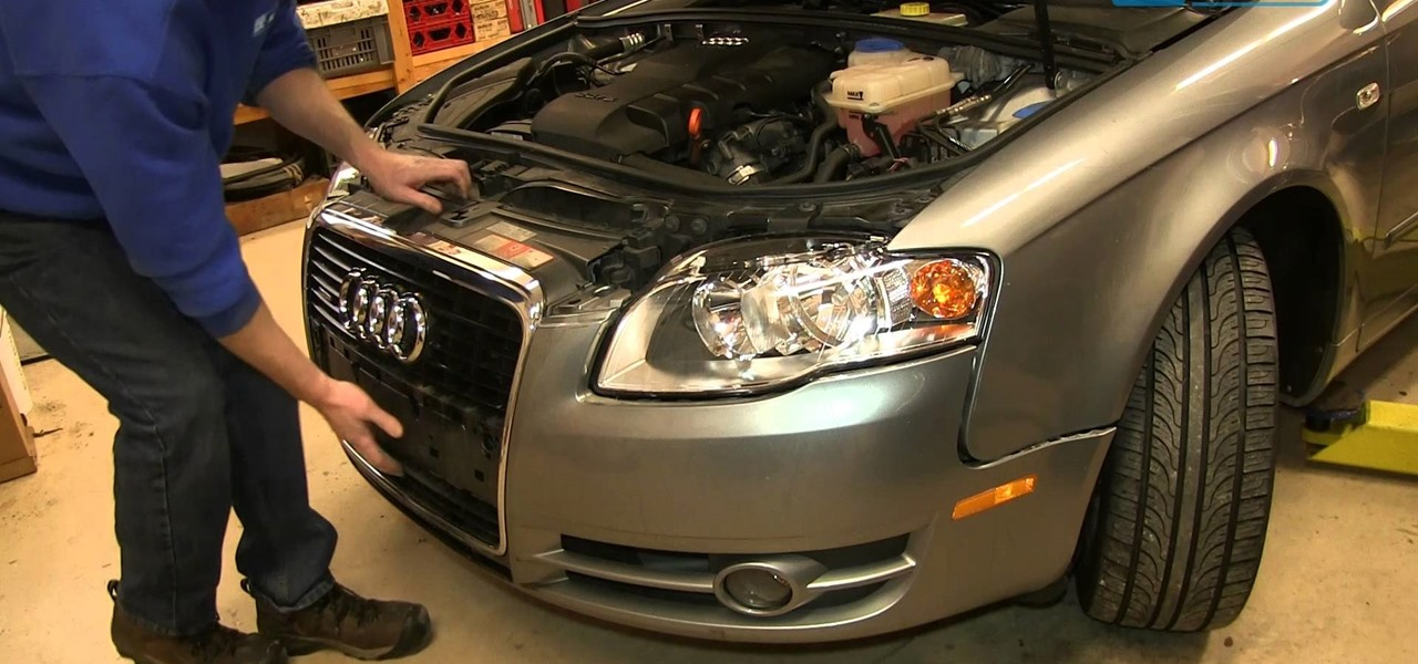 Change the Headlights and Bulbs 2005-08 Audi A4
