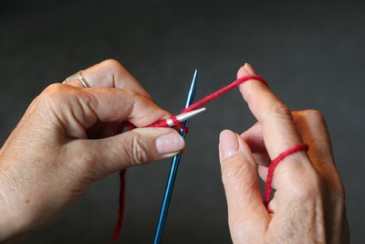 How to Knit the Knit Stitch