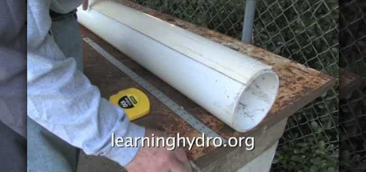 How To Easily Make A Hydroponic Garden Using A Pvc Pipe « Gardening ::  WonderHowTo