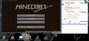 Hack the game Minecraft using Cheat Engine 5.5