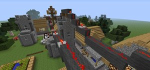 how to make a minecart train in minecraft