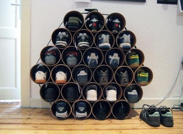make your own shoe organizer
