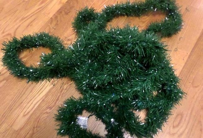 Tinsel For Christmas Tree