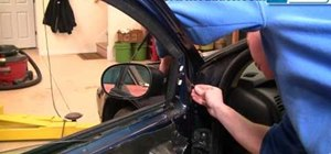 Replace the side rear view mirror in a 1998-2004 Dodge Intrepid