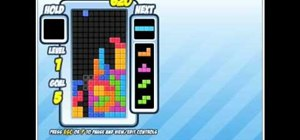 Execute a T-Spin move in Tetris
