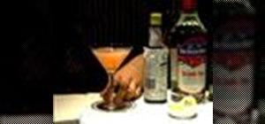 Make a Martinez cocktail