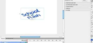 Animate 3D rotations using actionscript 3 in Flash CS4