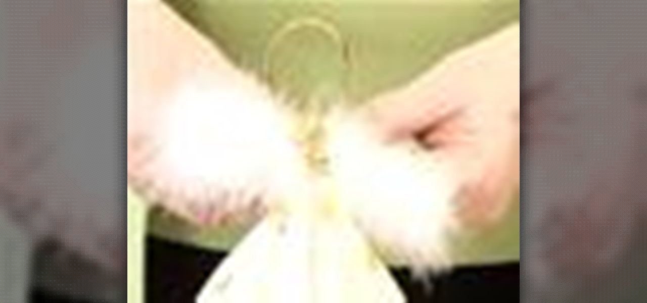 How To Make A Fairy For The Christmas Tree « Holidays